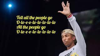 Los Unidades Feat. Pharrell Williams & Jozzy   E Lo (Lyric Video)