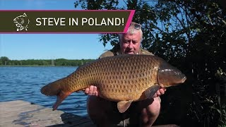 Steve Briggs At Goslawice Lake In Poland   BIG CARP!