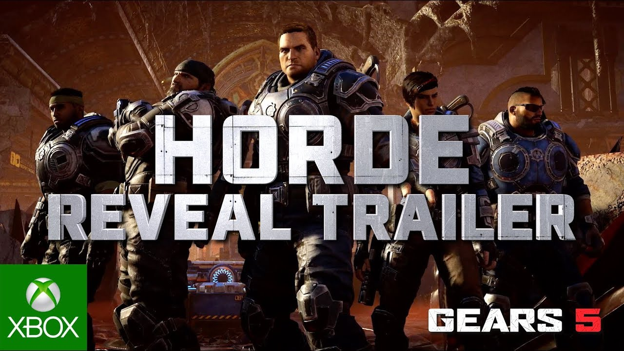 Video For Gears 5 at gamescom 2019: Horde, Halo: Reach Character Pack, and AAPE by A Bathing Ape®