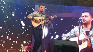 Atif Aslam Performing Aadat Unplugged Live At Dubai Global Village
