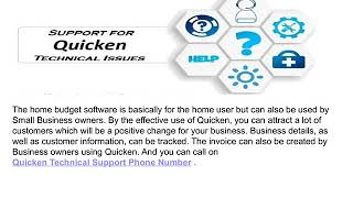 Quicken Tech Support Phone Number USA