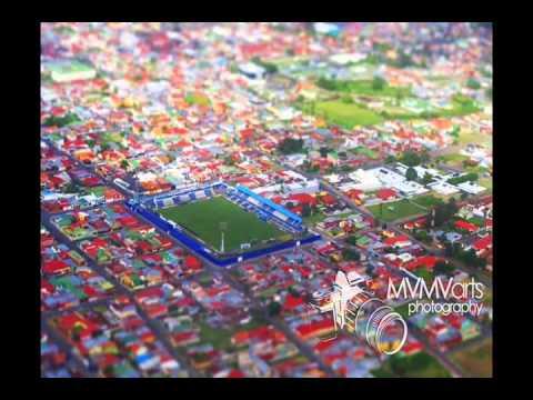 """""""LA MEJOR HINCHADA DE COSTA RICA- wind of change."""" Barra: Fuerza Azul • Club: Cartaginés"""