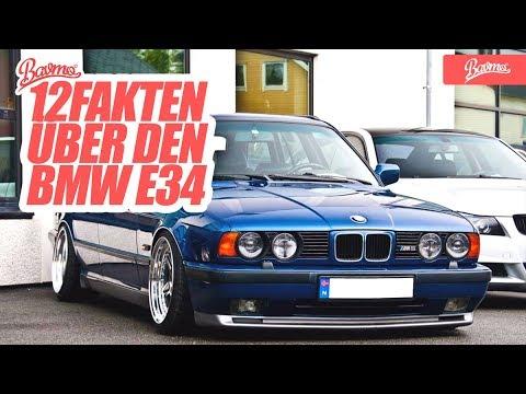 12 Fakten über den BMW E34 - BAVMO Car Facts (Das Original)