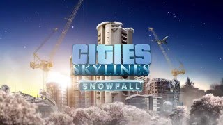 VideoImage1 Cities: Skylines - Snowfall