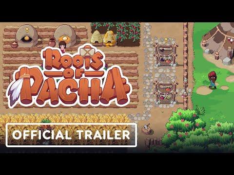 《Roots of Pacha》像素風模擬遊戲 玩家可以和好友一起建造一座村莊結婚永續繁衍經營