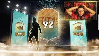 ОТКРЫЛ КРУТЕЙШИЙ РЕТРО ПАК!!! ПОЙМАЛ РЕЙТИНГ 92! FIFA 19
