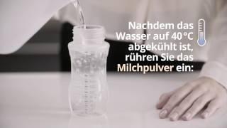Pha sữa đúng cách