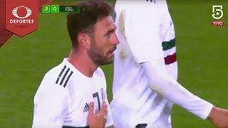 Doblete de Layún   México 3 - 0 Islandia   Partido Amistoso   Televisa Deportes