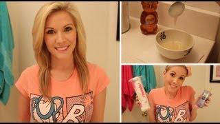 Skin Clearing DIY Facial Scrub + Nightly Skincare Routine ♥