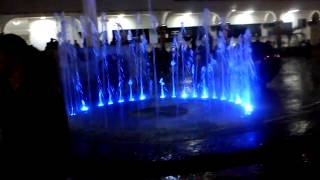preview picture of video 'Fuente rítmica de Tuxpan Veracruz'
