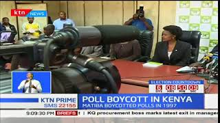 Implications of Raila Odinga's presidential poll boycott