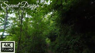 FPV drone - Sound Design 2 | Fpv freestyle drone nature wood mountain