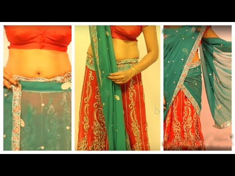 How To Wear A Half Saree And Look Stunning Step By Step Mp3