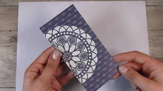 Using Up Pattern Paper For Card Making - Simple Card Making