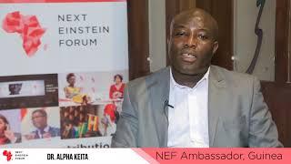 Dr  Alpha Kabinet Keita, NEF Ambassador to Guinea