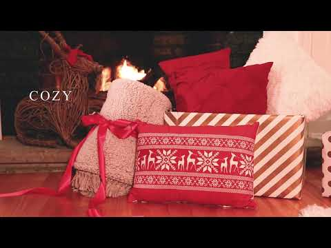 Woven Buffalo Check Gift Box Set