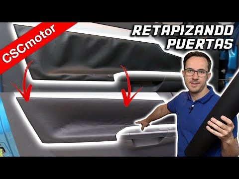Retapizar puertas de coche| CONSEJOS