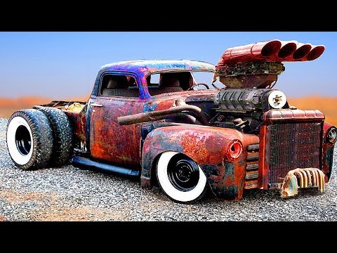 CRAZIEST And POWERFUL CARS & TRUCKS (Detroit Diesel) | CUSTOM HOT RODS And RAT RODS Mp3