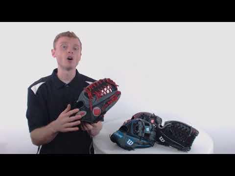 Wilson A1000 Baseball Gloves   2018 Series Overview