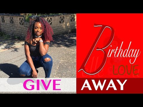 Give away | It's My Birthday 🎂 🎁