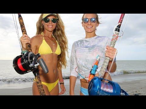 Best Beach Shark Fishing Rig & Tips from the SHARK WRESTLER!