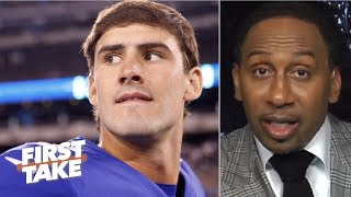 Daniel Jones is in for a tough outing against the Buccaneers – Stephen A. | First Take