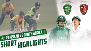 Short Highlights | Pakistan vs South Africa | 1st T20I 2021 | PCB | ME2T