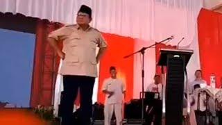 Video Prabowo Berjoget dan Tantang Wartawan yang Khusus Menunggunya 'Salah Bicara' untuk Diberitakan