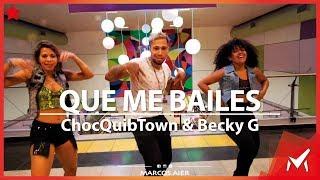 Que Me Baile   ChocQuibTown, Becky G   Marcos Aier