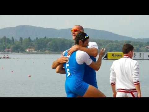 La coppia Sartori-Battisti guadagna l'argento agli Europei