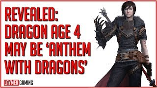 Bioware Double Down On Anthem Fail With Rebooted 'Live Service' Dragon Age 4