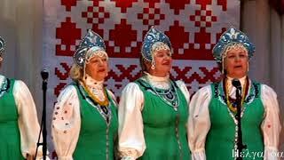 """народные песни """"Вдоль да по речке"""", """"Рябинушка"""" , """"Комарики-Мушки Дробненькие"""""""