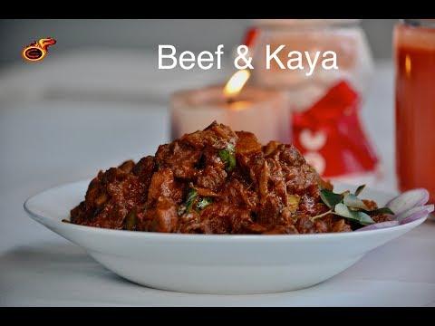 തൃശ്ശൂർ സ്\u200cപെഷ്യൽ  ബീഫും കായയും ||Christmas Special Beef & Kaya || Beef with Raw Banana || Ep:466 (видео)