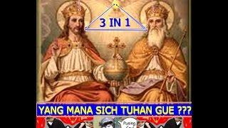 """Ust. FELIX (Mantan Aktivis Kristen), Mengajak Kristen Gunakan Akal Sehatnya : """"Tuhan Ada Tiga ?"""""""