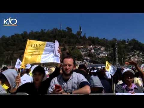 Le Pape François au Chiapas