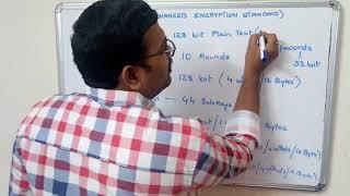 NETWORK SECURITY- AES (ADVANCED ENCRYPTION STANDARD) Algorithm