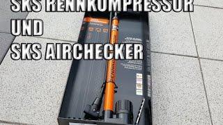 SKS Pumpe Rennkompressor und Luftdruckmesser SKS Airchecker im Test