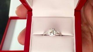 James Allen Engagement Ring Unboxing