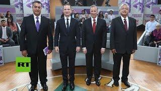 El último debate electoral de las presidenciales en México