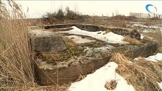 В новом микрорайоне «Ивушки» строители обнаружили укрепления времен Великой Отечественной войны