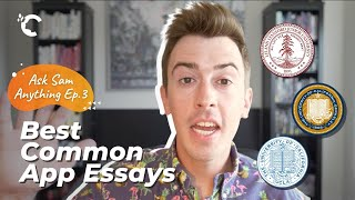 youtube video thumbnail - Stanford, UCLA & UC Berkeley: My Favorite Common App Essays | Ask Sam Anything Ep. 3