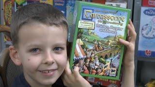 Carcassonne Erweiterung 8 (Hans im Glück) - Brücken, Burgen und Basare - ab 7 Jahre