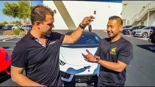 Buying 2 Lamborghini Huracans in 10 Minutes