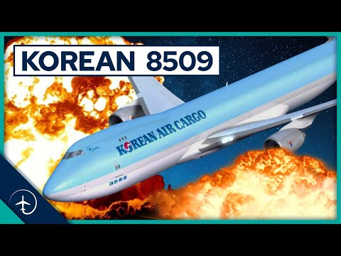 This Jumbo Jet CRASHED just after Takeoff, WHY?! Korean Air Cargo flight 8509