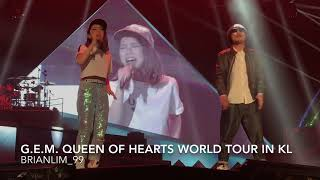 [LIVE] 飘向北方   G.E.M. 邓紫棋 Ft. Namewee 黄明志    G.E.M. 邓紫棋 Queen Of Hearts 世界巡回演唱会2017马来西亚站