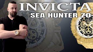 Invicta Sea Hunter III Gold on Gold