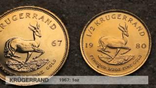 preview picture of video 'Krügerrand Goldmünze - die wohl beliebteste Anlagegoldmünze der Welt (Südafrika)'