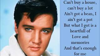 Poor Boy - Elvis Presley - (Lyrics)
