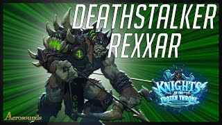 Taking Deathstalker Rexxar for a Spin! KFT Hearthstone Hunter Gameplay, Guide, best huner decks 2017