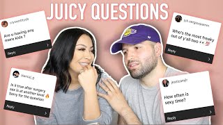 ANSWERING YOUR JUICY QUESTIONS ABOUT OUR RELATIONSHIP